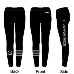 * PREORDER * T3 Performance Men's and Women's Compression Tights *Preorder*