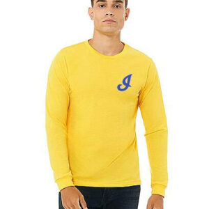 Independence Long Sleeve Tee — Yellow or Royal Blue
