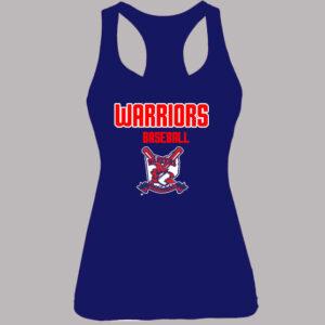 Warriors Baseball Tank Top